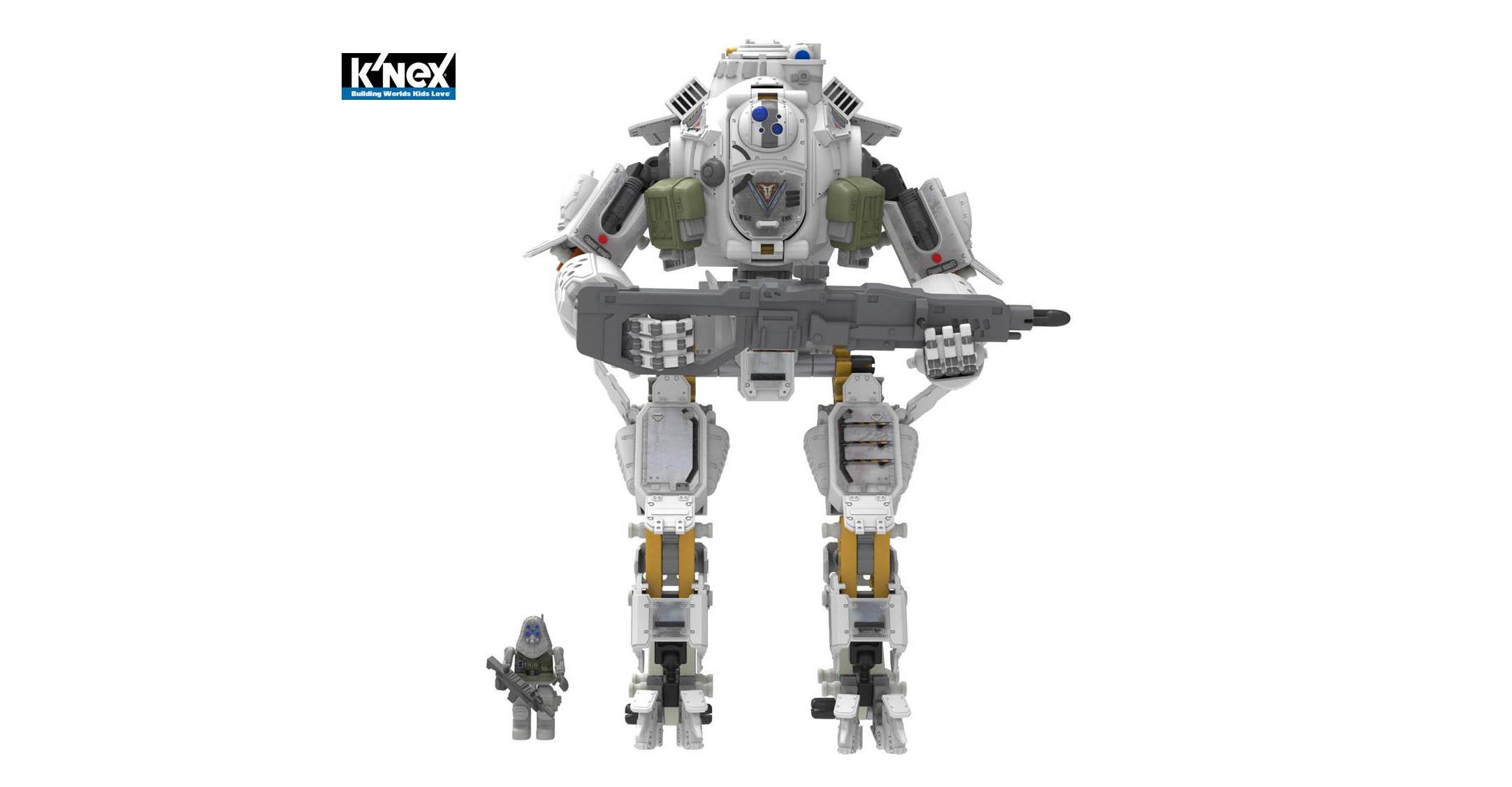K Nex Titanfall Toys Drop In At London Toy Fair