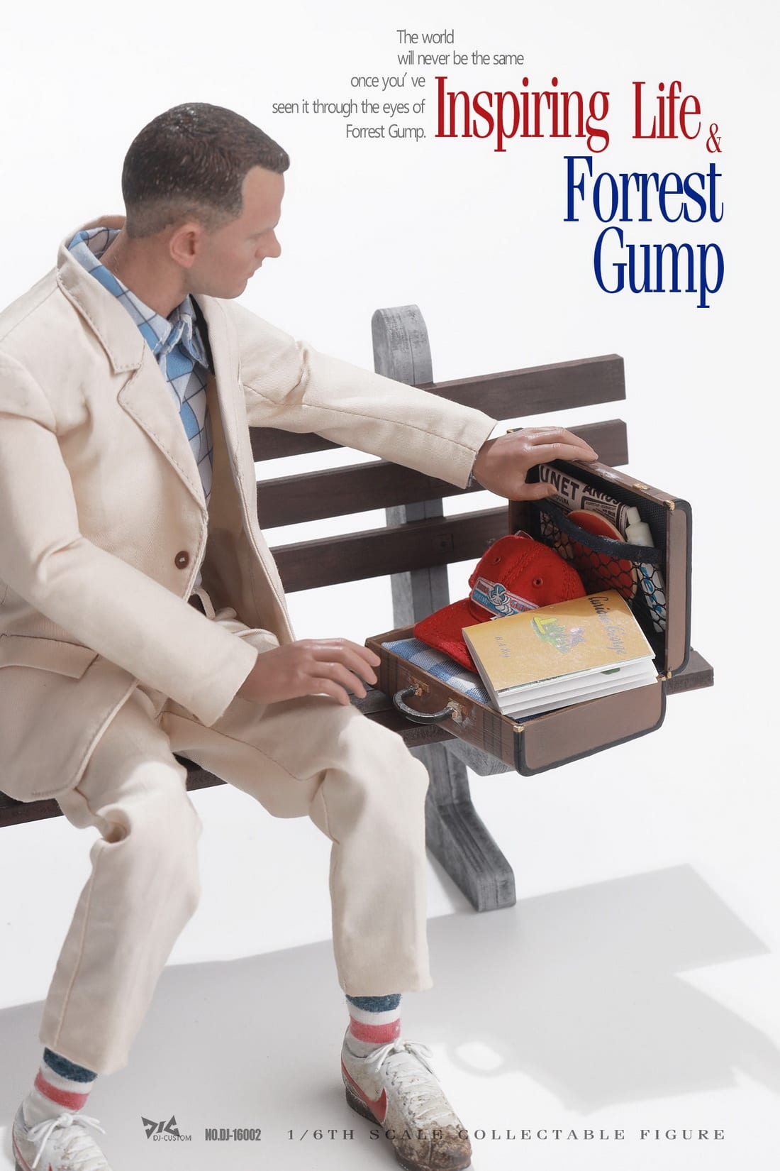 DJ-CUSTOM DJ-16002 Forest Gump 1//6 Collectible Action Figure Toys In Stock