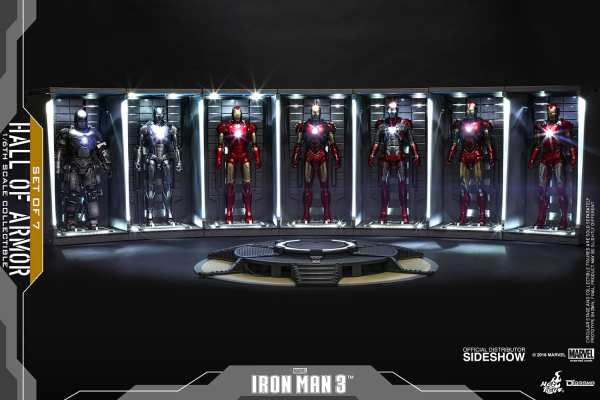 marvel-iron-man3-hall-of-armor-set-of-7-sixth-scale-accessory-hot-toys-904265-01