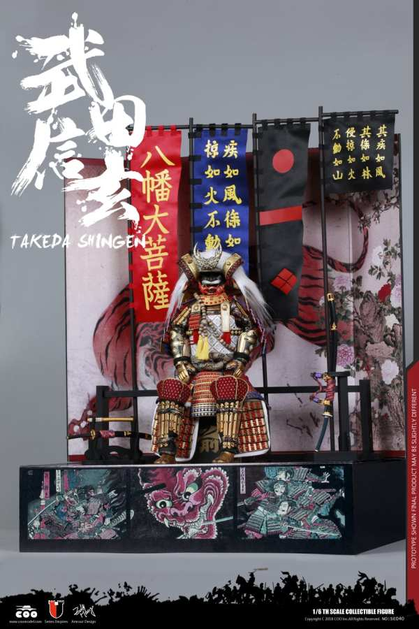 coomodel-se040-1-6-scale-series-of-empires-diecast-takeda-shingen-tiger-kai-EXCLUSIVE-img09