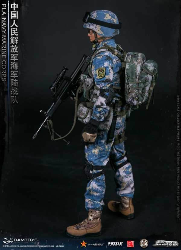 DAMTOYS 78068 1//6 Scale PLA Navy Marine Corps Collectible Action Figure New