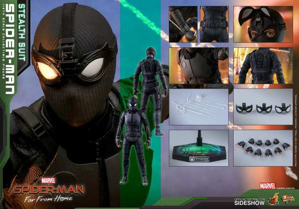 hot-toys-spiderman-stealth-suit-spiderman-far-from-home-sixth-scale-figure-mms-540-marvel-img13