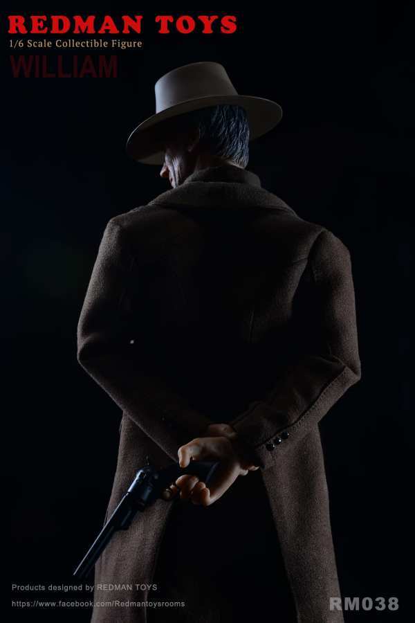redman-toys-rm038-the-cowboy-unforgiven-william-1-6-scale-figure-sixth-scale-img01