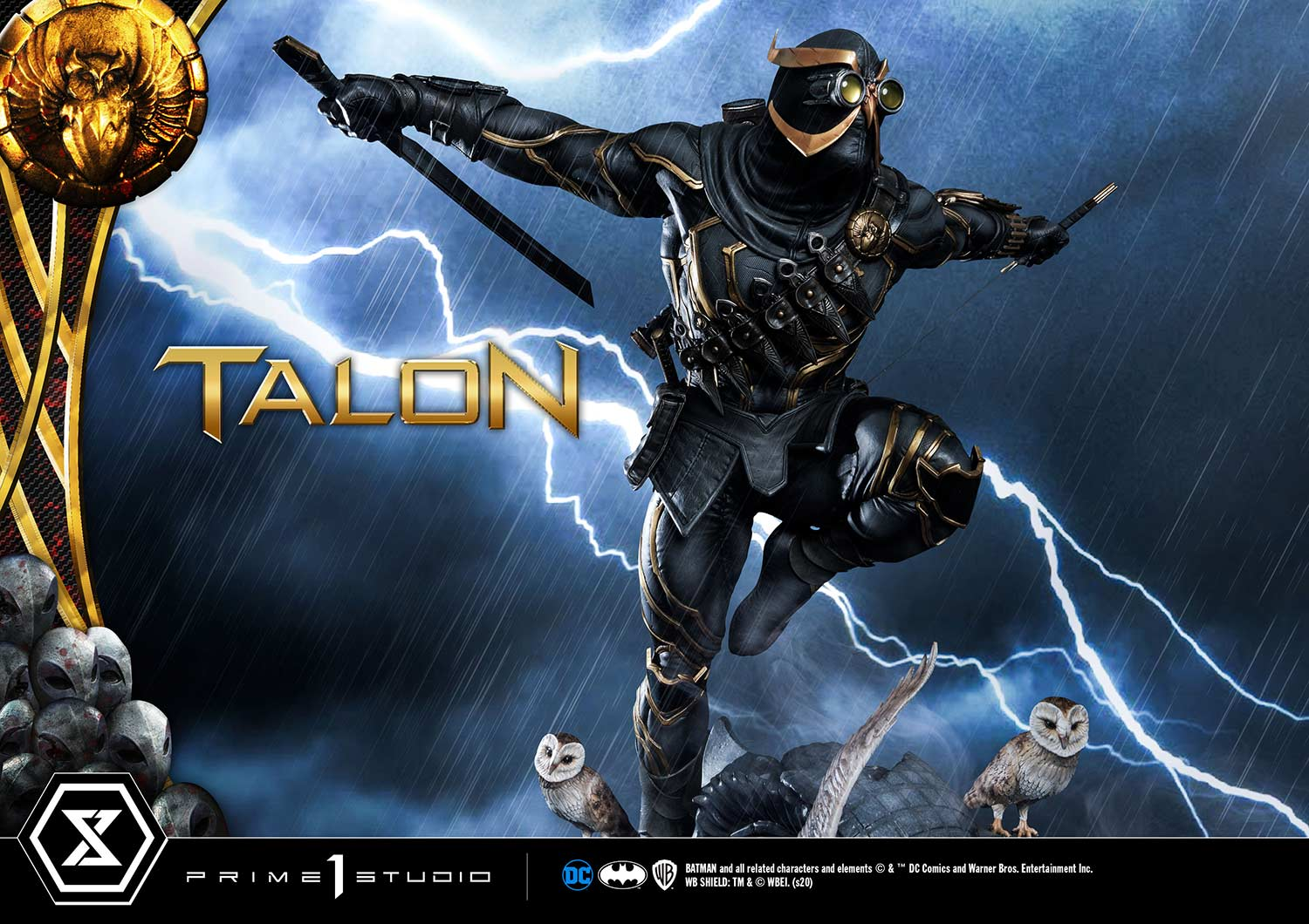 The Court Of Owls Has Sentenced You To Die With Prime 1 Studio S Talon Statue Toy Origin