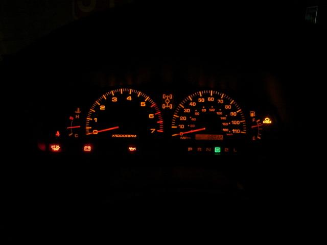 Toyota Dashboard Light Bulbs