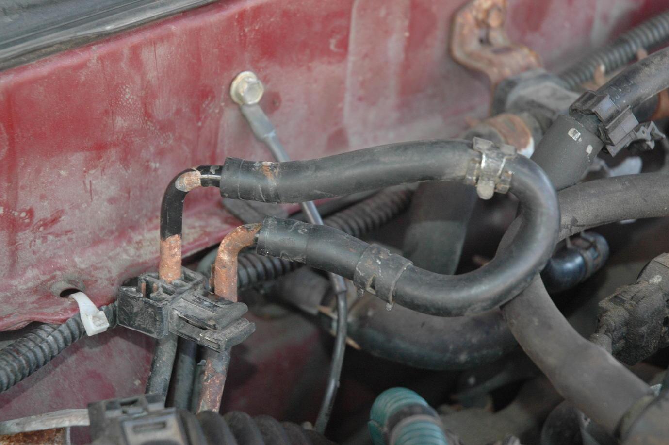 1997 Ford Ranger Heater Hose Diagram