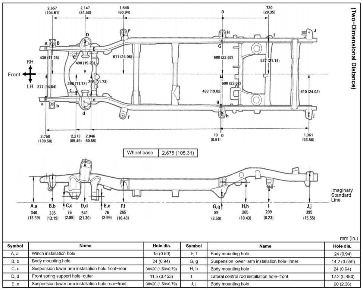toyota 4runner body parts diagram