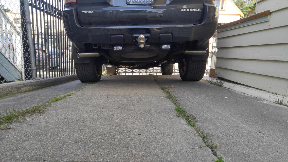 dual exhaust questions on 2008 v8