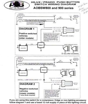 AOB switch wiring question  Toyota 4Runner Forum