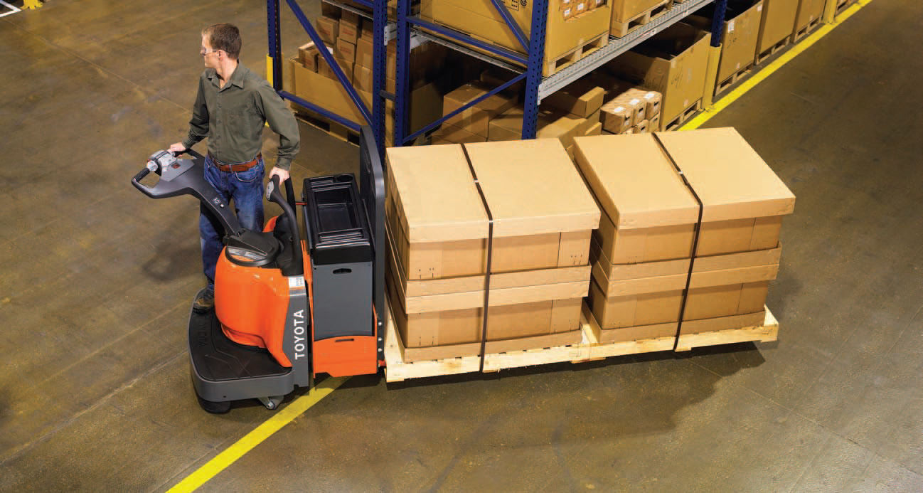Compact Electric Fork Lift