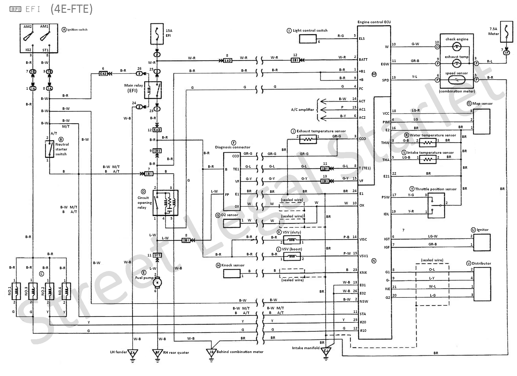 SLS EP82 Wiring diagram (zenki)?resized665%2C484 vl commodore alternator wiring diagram efcaviation com vl wiring diagram at highcare.asia