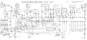 Toyota 4efte ecu wiring diagram