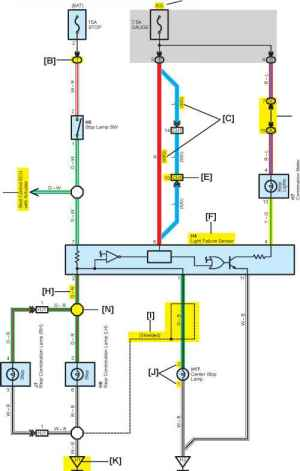 Camry Electrical Wiring Diagram  Toyota Camry Repair