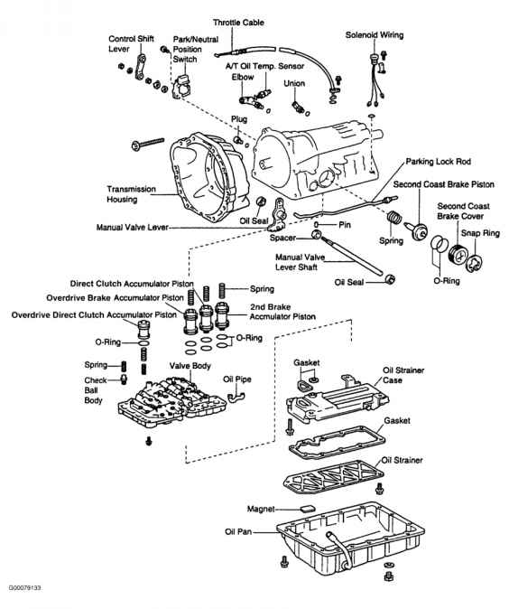 2003 Toyota Sequoia Parts Diagram
