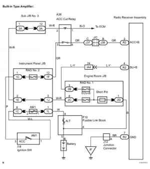 Taa Stereo Wiring Diagram  Toyota Sequoia Equipment