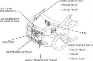 Parts Location  Toyota Yaris Manual  Toyota Service Blog