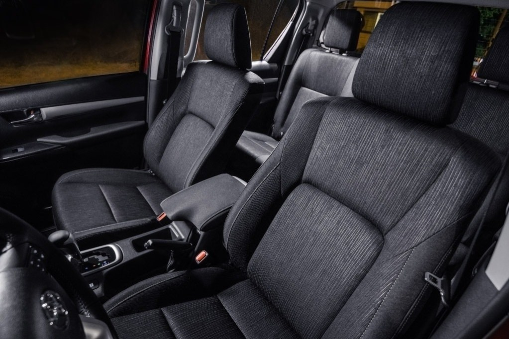 toyota hilux safety