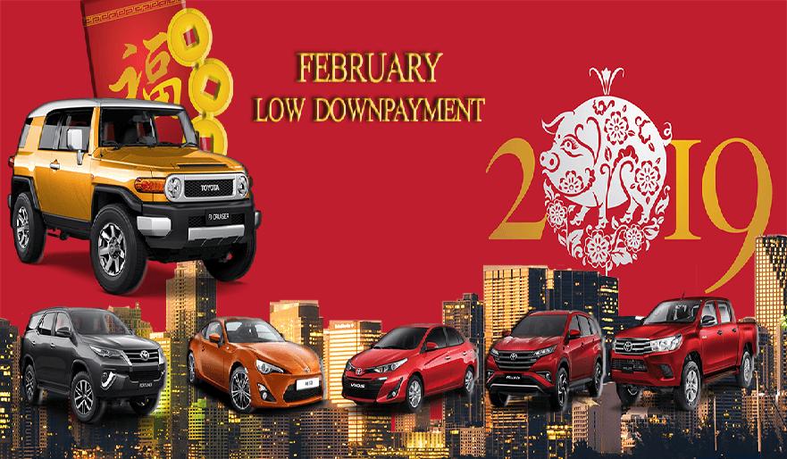 Toyota Cebu February 2019 Latest Promo