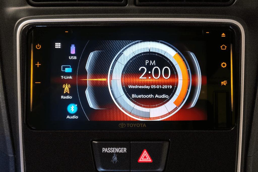 Toyota Avanza 2019 infotainment system