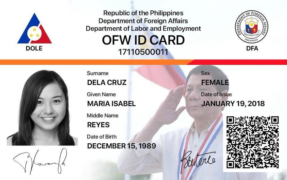 OFW Electron Card(E-Card)