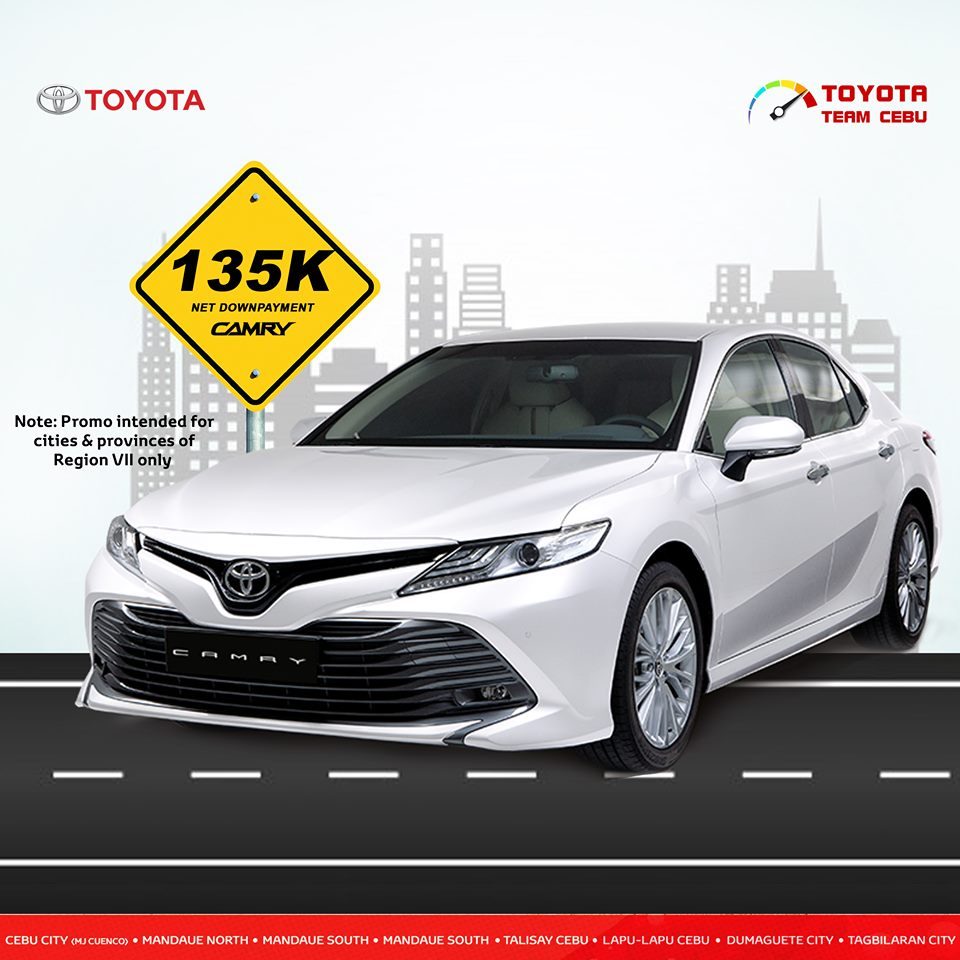 toyota camry july 2019 promo