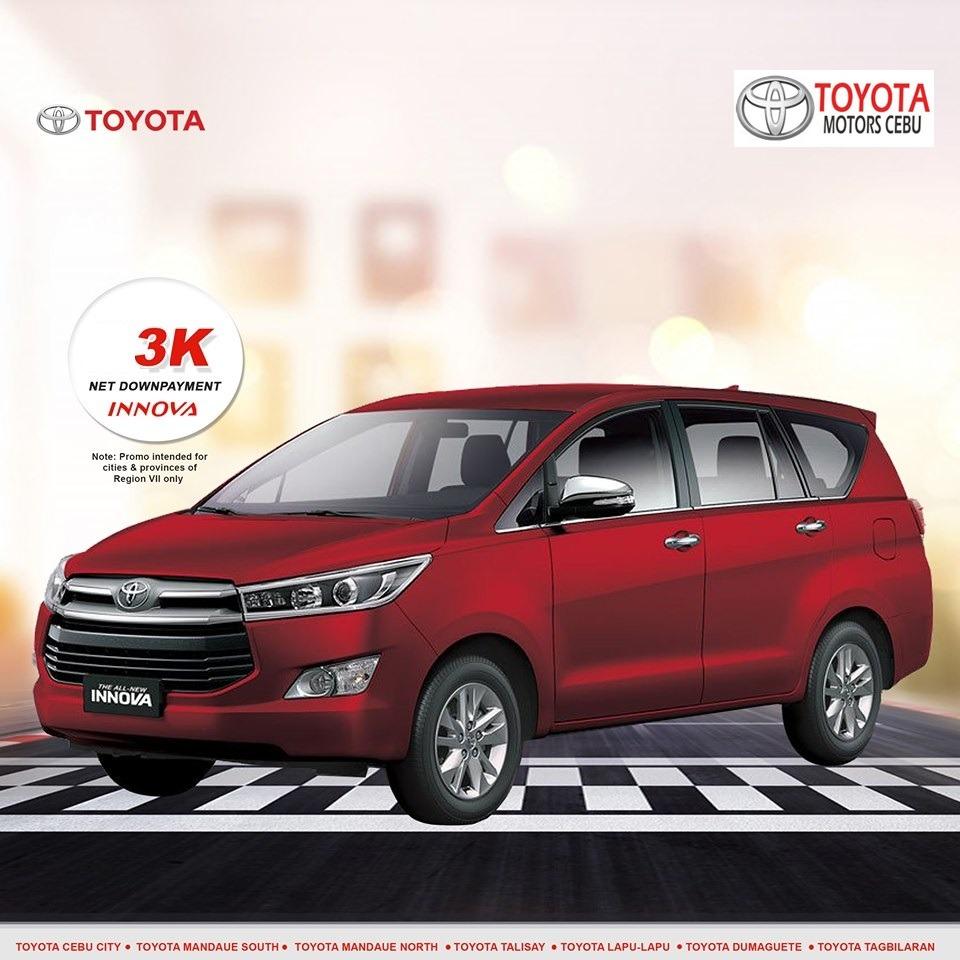 toyota innova october 2019 latest promotional offer in toyota philippines cebu