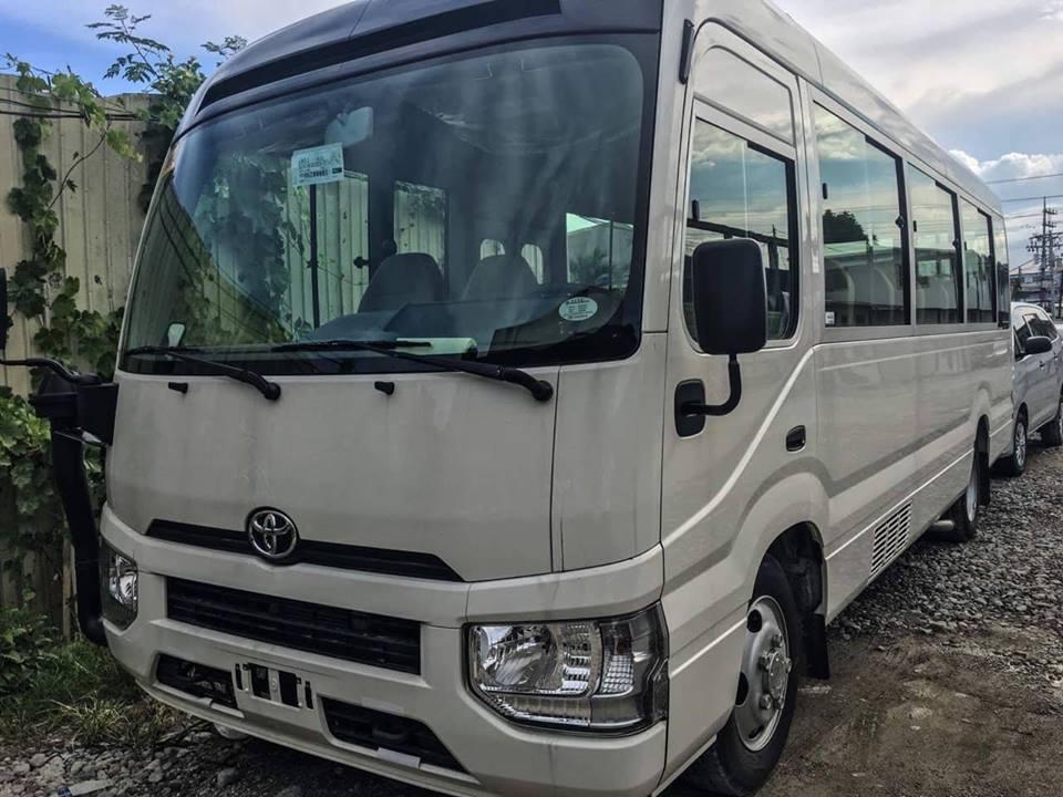 Toyota Coaster 2021