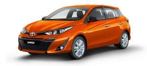 Toyota yaris Orange Metallic 2020 Cebu Philippines latest prices & promotions