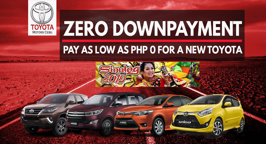 Toyota Cebu January 2020 Promotion