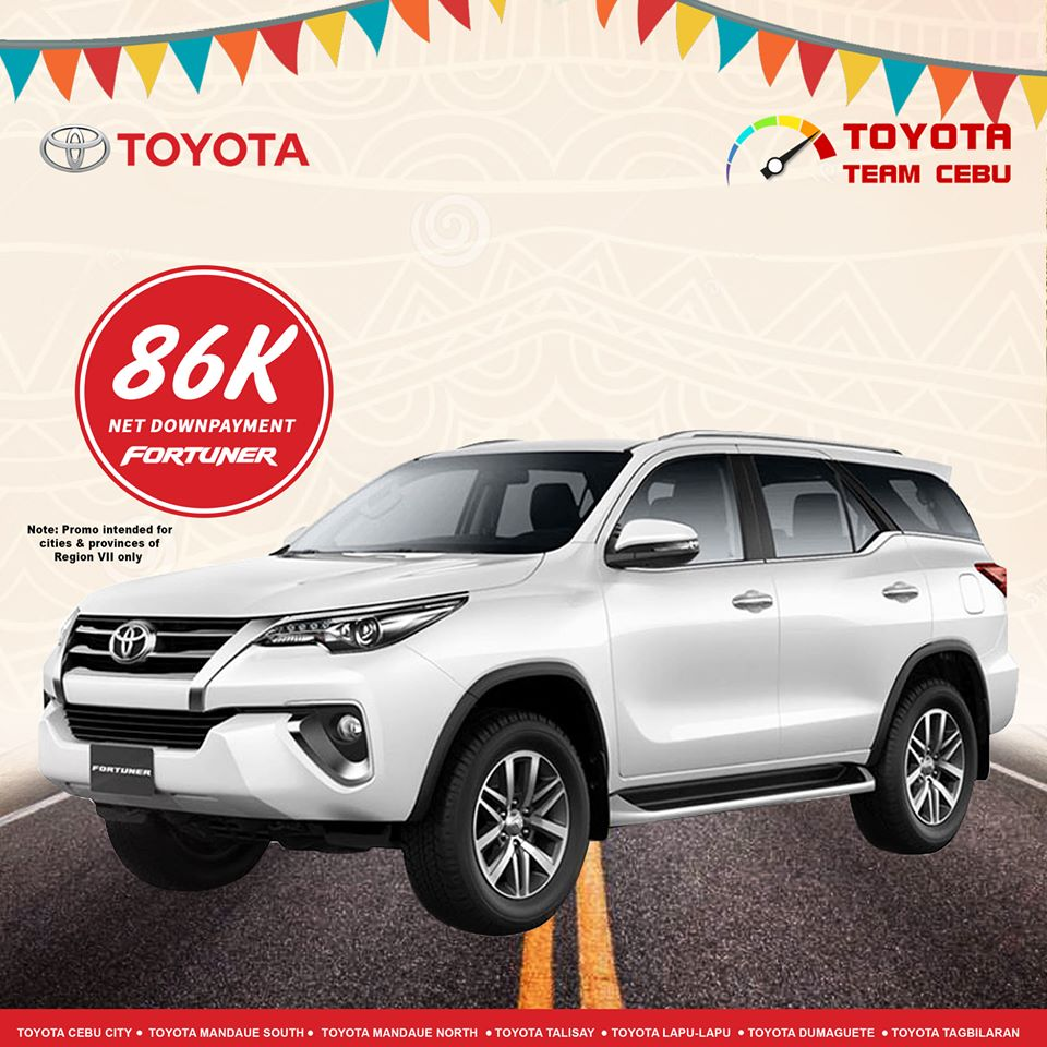 toyota fortuner january 2020 cebu promotion