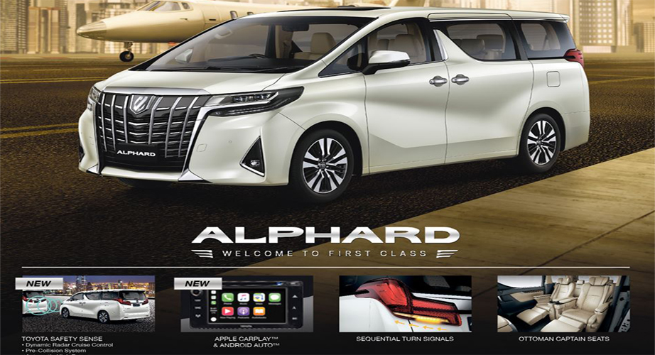 2020 Toyota Alphard with Safety Sense
