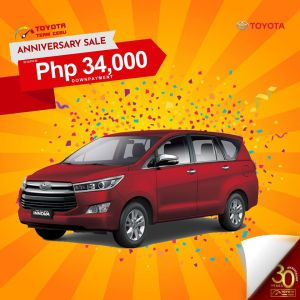 Toyota Innova March 2020 All In Down Payment Promotion