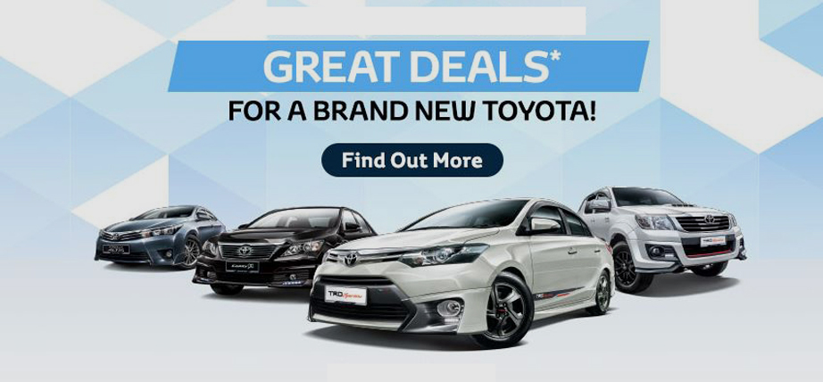 Toyota September 2020 Promotion