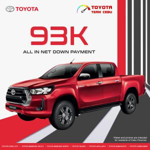 Toyota Hilux Conquest January 2021 Promotion