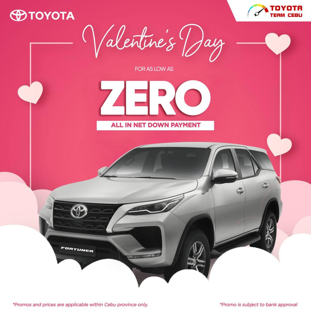 Toyota Fortuner February 2021 Promotion