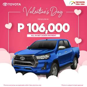Toyota Hilux Conquest February 2021 Promotion
