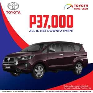 Toyota Innova March 2021 Promotion