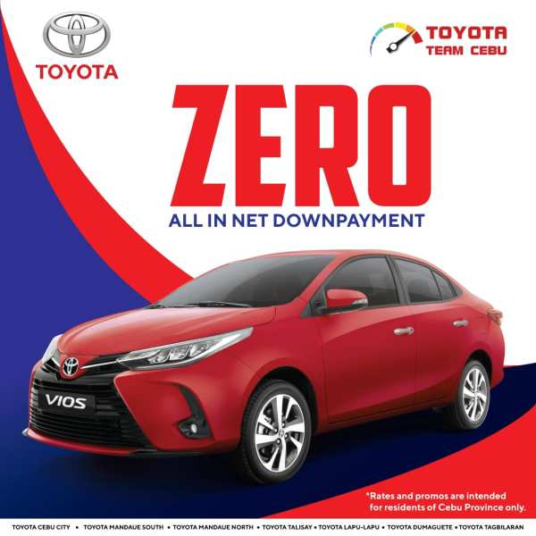 Toyota Vios March 2021 Promotion