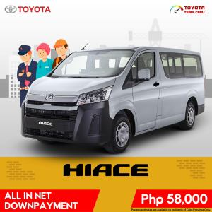 Toyota Hiace May 2021 Promotion