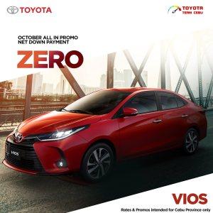 Toyota Vios October 2021 Promotion