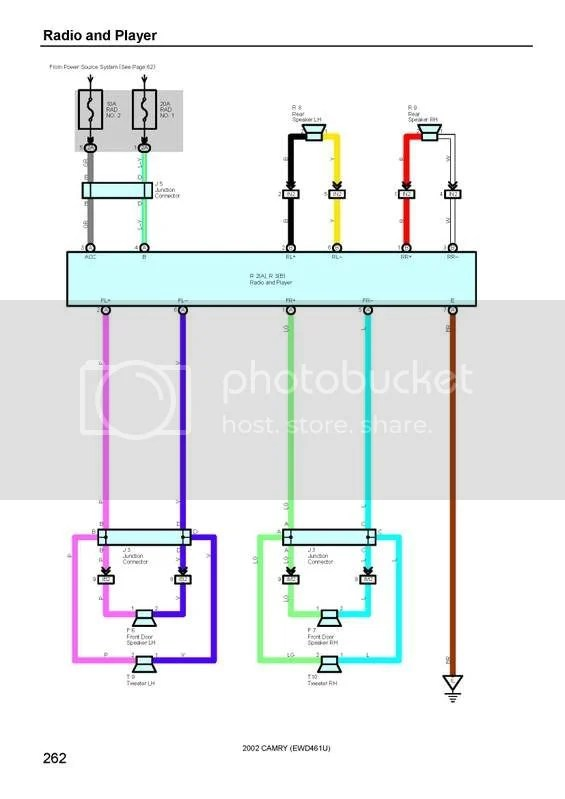 for a 1991 toyota camry radio wiring diagram  nippondenso