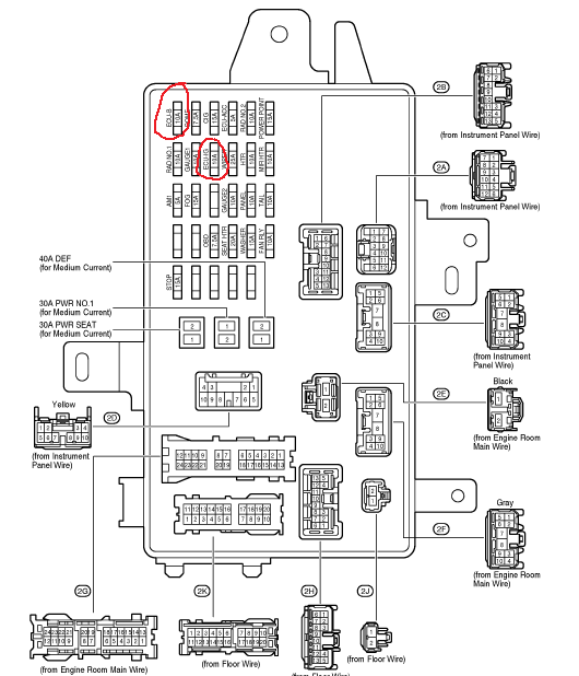 2002 toyota camry fuse diagram  start wiring diagrams list