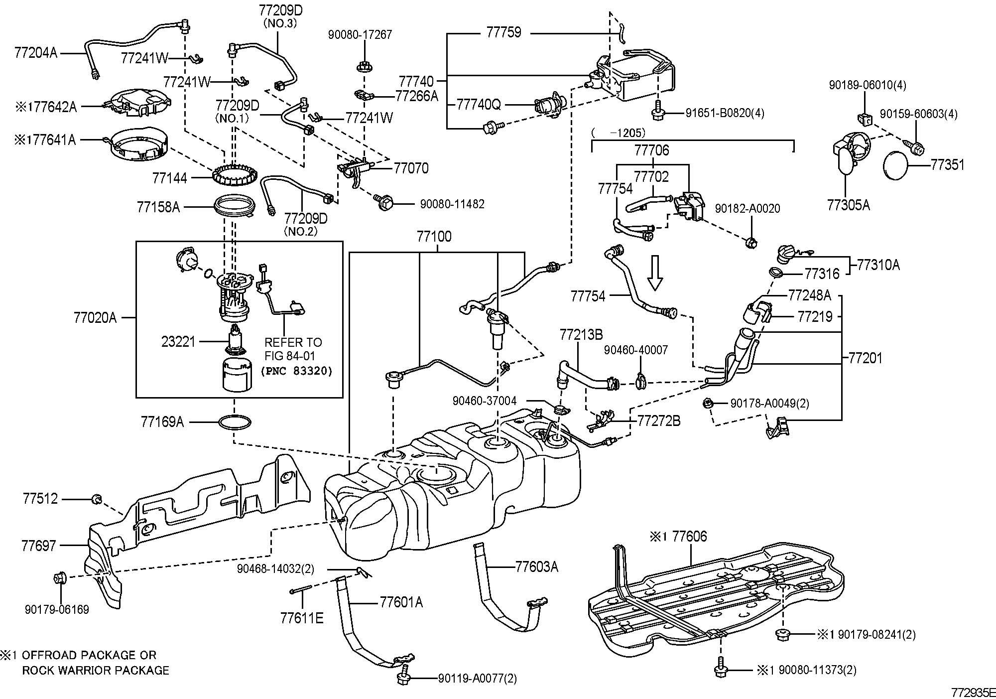 Toyota Tacoma Fuel Filter