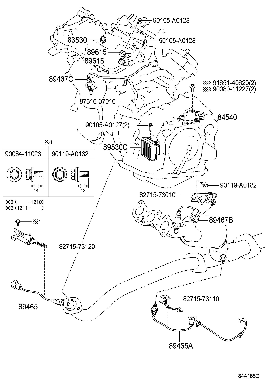 Toyota Venza Switch Assembly Neutral Start Switch