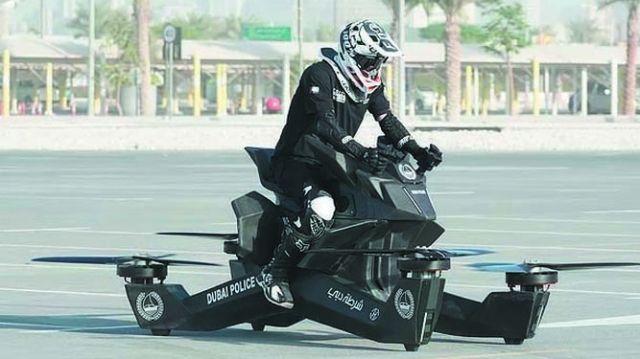 LA POLIZIA DI DUBAI IN VOLO – LE NUOVE MOTO AEREE PER IL 2020