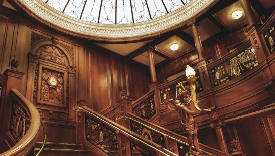 Titaniic Memorial  stairs barroque ship ocean TITANIC II : LA STORIA SI RIPETE