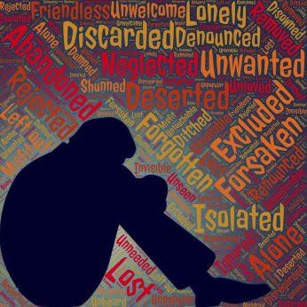 soledad rechazo solitario rechazado solo EL MIEDO AL RECHAZO