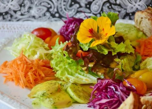 ensalada saludable comida alimento verduras sano  ¿EN QUÉ CONSISTE LA DIETA VEGANA?