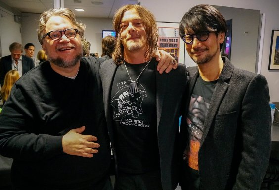 guillermo del toro norman reedus hideo kojima  kojima production