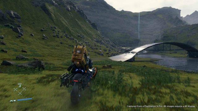 gameplay death stranding 4K